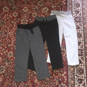 Bundle of three boys sweatpants